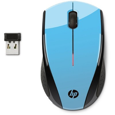 HP Inc. K5D27AA#ABL X3000 Blue Wireless Mouse