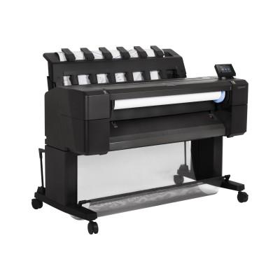 HP Inc. L2Y22A#B1K DesignJet T930 - 36 large-format printer - color - ink-jet - Roll (36 in x 300 ft)  36 in x 48 in - 2400 x 1200 dpi - up to 0.4 min/page (mon