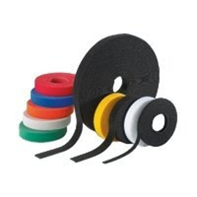 Panduit HLS-15R0 VELCRO STRIP TIE 180 50LB CAN BE CUT TO DESIRED LENGTHS .75W Black 15'/RL