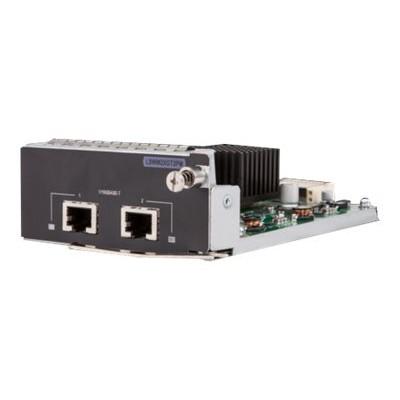 Hewlett Packard Enterprise JH156A Expansion module - Gigabit Ethernet / 10Gb Ethernet x 2 - for  5130  5130 24  5130 48  5510  5510 24  5510 2-port  5510 48