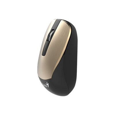 Genius 31030119103 NX 7015 - Mouse - optical - 3 buttons - wireless - 2.4 GHz - USB wireless receiver - gold