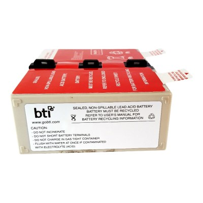 Battery Technology inc APCRBC123-SLA123 UPS battery - 1 x lead acid 7.2 Ah - for APC Back-UPS Pro 1000  RS 1000