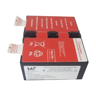 Battery Technology inc APCRBC124-SLA124 UPS battery - 1 x lead acid 9 Ah - for APC Back-UPS Pro 1300