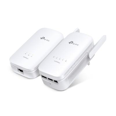 TP-Link TL-WPA8630 KIT TL-WPA8630 KIT - Bridge - GigE  HomePlug AV (HPAV)  HomePlug AV (HPAV) 2.0 - wall-pluggable