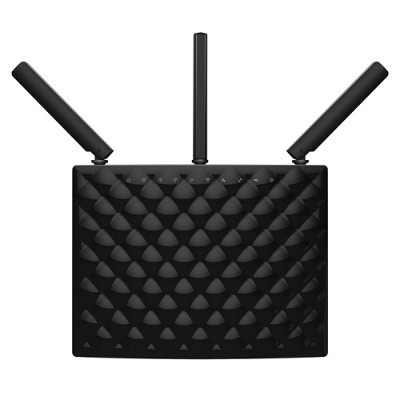 Tenda Technology AC15 Dual Band Gigabit Router 1300Mbps at 5GHz  600Mbps at 2.4GHz 3 External Antennas USB 3.0 Port