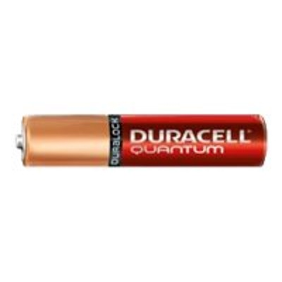Duracell QU2400BKD QUANTUM ALKALINE BATTERIES WITH DURALOCK POWER PRESERVE TECHNOLOGY  AAA  24/BOX