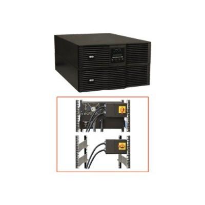 TrippLite SU10KRT3U SmartOnline 208/240 & 120V 10kVA 9kW Double-Conversion UPS  9U Rack/Tower  Extended Run  SNMPWEBCARD Option  USB  DB9 Serial  Bypass Switch