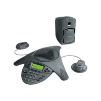 SoundStation VTX 1000 Conference Phone (subwoofer and EX microphones included)