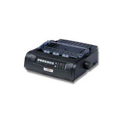 Oki 91909701 Microline 420 - Printer - monochrome - dot-matrix - 240 x 216 dpi - 9 pin - up to 570 char/sec - parallel  USB