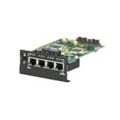 Black Box LE1425C Expansion module - 10/100 Ethernet x 4 - for Modular Fiber Switch