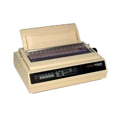 Oki 62410601 Microline 395C Printer color dot matrix A3 Plus Roll 16 in 360 dpi 24 pin up to 610 char sec parallel serial