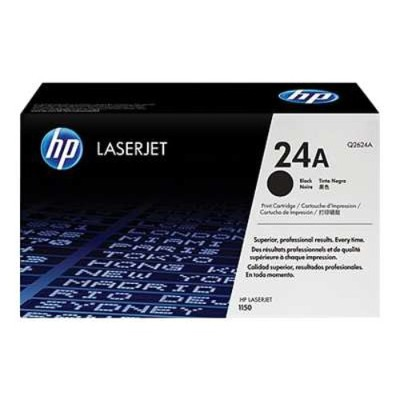 HP Inc. Q2624A LaserJet 24A Black Print Cartridge with Ultraprecise Technology