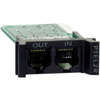 APC PTEL2R ProtectNet Pots (Analog Telco) Protection Module - REPLACEABLE  RACKMOUNT  1U  2 LINE TELCO SURGE PROTECTION MODULE