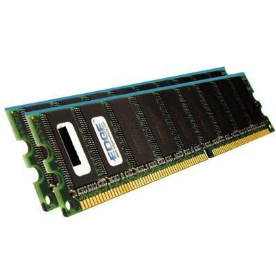 EDGE Memory PE19220402 1GB (2 x 512MB) PC3200 Non-ECC Unbuffered DIMM Memory Upgrade Kit