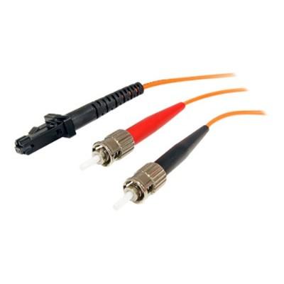 StarTech.com FIBMTST1 1m Duplex MM Fiber Optic Cable MTRJ-ST