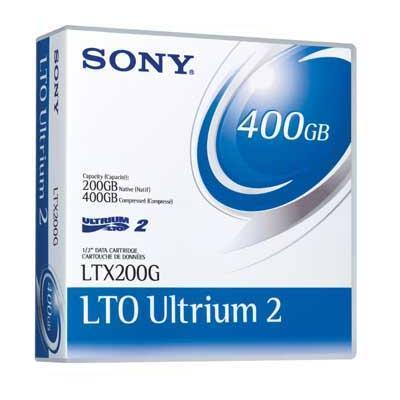 1 x LTO Ultrium - 200 GB - Storage Media