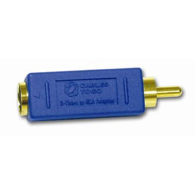 C2G 13051 Bi-Directional RCA Male/S Video Female Video Adapter