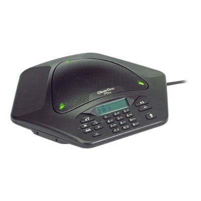 ClearOne 910-158-500 The ClearOne Max EX expandable conferencing phone provides premium  full-duplex audio in small conference rooms as a single unit and in la