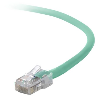 Belkin A3X126-06-GRN Crossover cable - RJ-45 (M) to RJ-45 (M) - 6 ft - UTP - CAT 5e - green