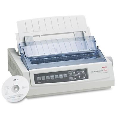 Oki 62411901 Microline 390 Turbo Dot Matrix Printer