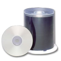Maxell 648720 700MB 80min. Printable CD-R Media - White