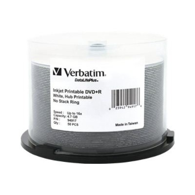 Verbatim 94917 4.7 GB 16x DVD+R (50 pack)