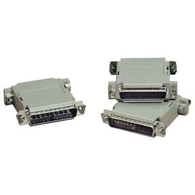 Black Box 522304 Null modem adapter - DB-25 (M) - DB-25 (F)
