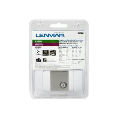 Lenmar DLF40 NoMEM Li-Ion FUJINP-40/PENTAX Optio S 3.7V 900mAh