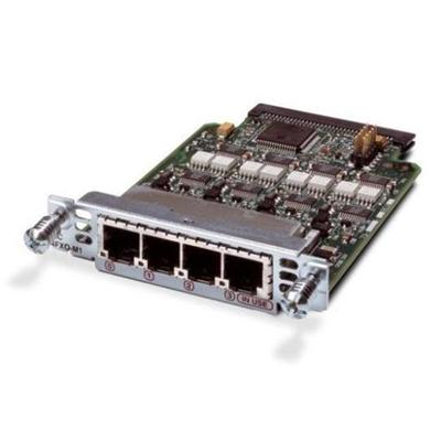 Cisco VIC2-4FXO= IP Unified Communications Voice/Fax Network Module - Voice interface card - FXO - analog ports: 4 - for  17XX  26XX  28XX  29XX  36XX  37XX  38