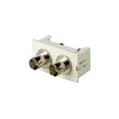 Black Box WP334 Wall mount kit - RCA X 2 - ivory