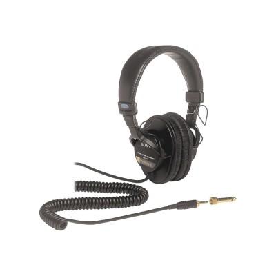 Sony MDR 7506 MDR 7506 Headphones full size 3.5 mm jack for HVR V1P NXCAM NEX FS100 FS700 XDCAM PMW 300 400 PXW FS5 FS5K FS7 FS7K X200