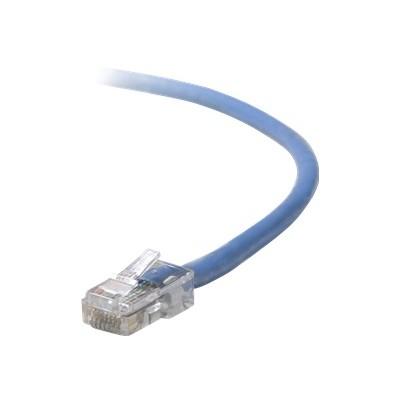 Belkin A3L791-07-BLU Patch cable - RJ-45 (M) to RJ-45 (M) - 7 ft - UTP - CAT 5e - blue - B2B - for Omniview SMB 1x16  SMB 1x8  OmniView IP 5000HQ  OmniView SMB
