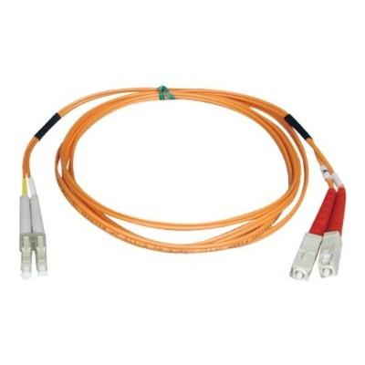 TrippLite N516-02M 6ft Duplex Multimode 50/125 Fiber Optic Patch Cable LC-SC 3 meter