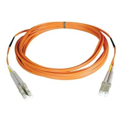 TrippLite N520-05M 16ft Duplex Multimode 50/125 Fiber Optic Patch Cable LC-LC 5 meter