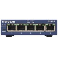 NetGear ProSafe 5-Port Gigabit Ethernet Desktop Switch - 10/100/1000 Mbps