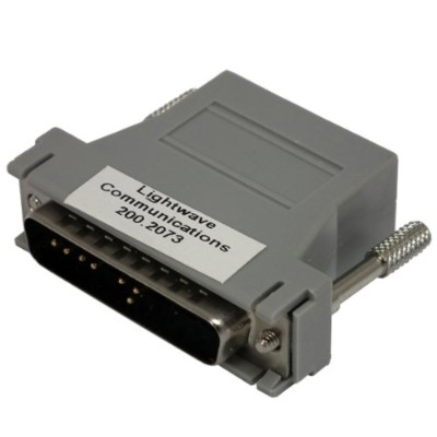 Lantronix 200.2073 Serial adapter ( DTE ) - RJ-45 (M) to DB-25 (M) - for Secure Console Server SCS1600  SCS1620  SCS3200  SCS3205  SCS4805