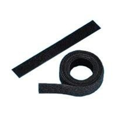 Panduit HLS-75R0 TAK-TY HLS Hook & Loop Cable Ties - Cable tie - 75 ft - black