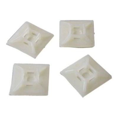 Startech.com Hc102 Self-adhesive Nylon Cable Tie Mounts Pkg Of 100 Cable Organizer (pack Of 100)