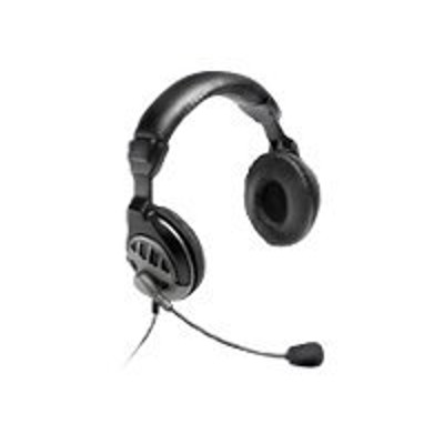 Micro Innovations MM750H MM 750H BROADCASTER PRO - Headset - full size - black
