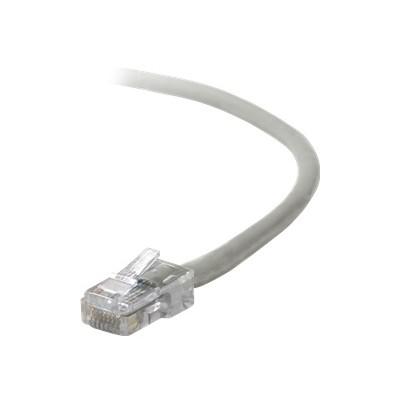 Belkin A3L791-04 Patch cable - RJ-45 (M) to RJ-45 (M) - 4 ft - UTP - CAT 5e - gray - B2B - for Omniview SMB 1x16  SMB 1x8  OmniView IP 5000HQ  OmniView SMB CAT5