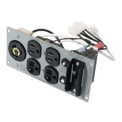 APC SU029RM2U Backplate Kit with NEMA (2) 5-15R  (2) 5-20R (1) L5-20R for SUA2200RM2U - SU029RM2U