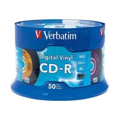 Verbatim 94587 CDR 80Min. 700MB Branded - Digital Vinyl - Storage media