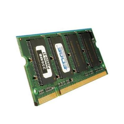 Edge Memory PE195199 DDR - 256 MB - SO-DIMM 200-pin - 333 MHz / PC2700 - CL2 - 2.5 V - unbuffered - non-ECC