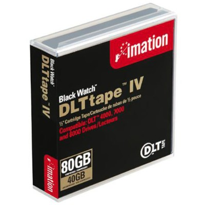 400/80GB Black Watch DLT IV Data Cartridge