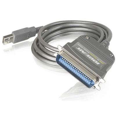 Iogear GUC1284B 6-foot USB to Parallel Bi-Directional Printer Cable