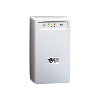 TrippLite INTERNETOFFICE500 500VA 280W UPS Desktop Battery Back Up Tower 120V USB RJ45 PC