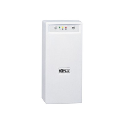 TrippLite INTERNETOFFICE700 700VA 425W UPS Desktop Battery Back Up Tower 120V USB RJ45 PC