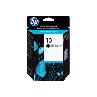 HP Inc. C4844A 10 - 69 ml - black - original - ink cartridge - for Business Inkjet 1000  1200  2300  2800  DesignJet 110  500  70  820  Officejet Pro K850