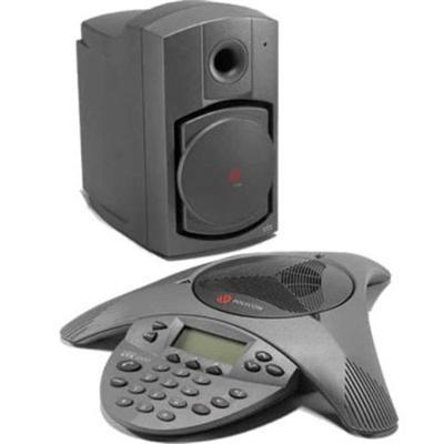 Polycom 2200-07500-001 SoundStation VTX 1000 Conference Phone (subwoofer included)