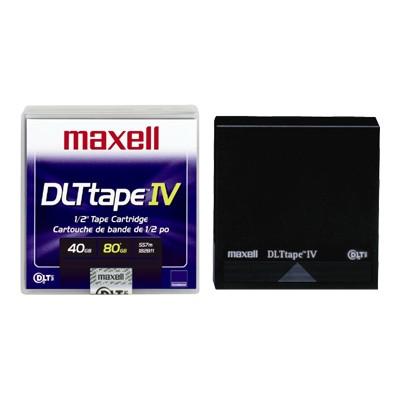 Maxell 183270 DLTtape IV - DLT IV - 40 GB / 80 GB - DLT8000
